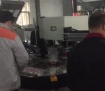 四工位带放纸卡和取纸卡机械臂